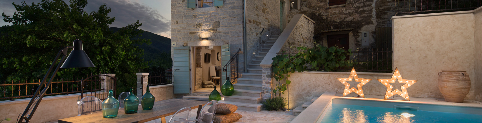 stone holiday home in Istria
